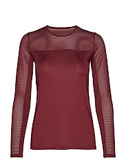 Miko Long Sleeve - BURGUNDY