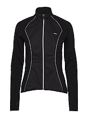 THERMO WIND JACKET - BLACK COMB EMBOSSED