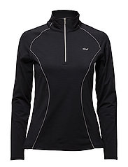 KEEP WARM HALF ZIP - BLACK