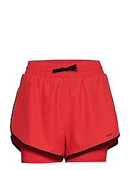 WORKOUT SHORTS - RED