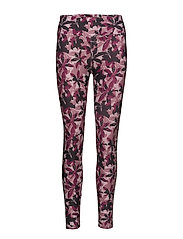 FLATTERING AOP T - PINK LILY