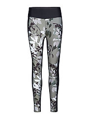 COMBAT TIGHTS - GREEN LEAVES