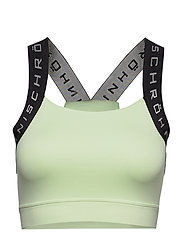 Kay Sports Bra - LIME CREAM