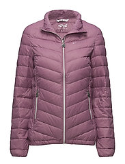 LIGHT DOWN JACKET - BLUSH
