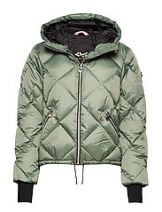 Active Short Jacket - COMBAT GREEN
