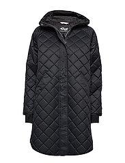 Double Quilt Jacket - BLACK