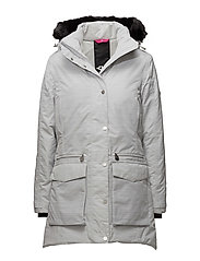 ALL WEATHER PARKA - WHITE