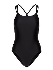 STRAP SWIMSUIT - BLACK