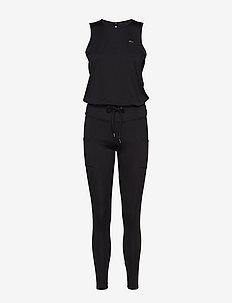 Flattering Jumpsuit - BLACK