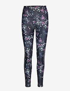 Elevate Garden Tights - PINK GARDEN