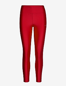 Shiny Tights - running & training tights - red