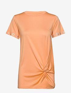Knot Tee - t-shirts - cantaloupe