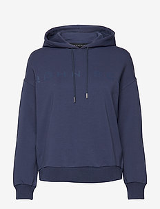 Comfy Sweat Hoodie - DUSTY BLUE