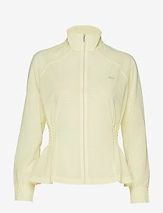 Sheer Run Jacket - POWDER YELLOW