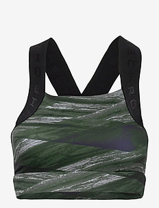 Kay Printed Sports Bra - sort bras:high - green mist