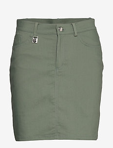 Firm Skort - jupes de sport - palm green