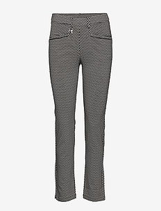Smooth Pants - spodnie do golfa - black/white check