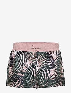 Beach Shorts - strandkläder - palm pale pink