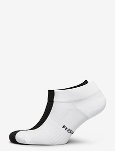 2-pack short sock - tennarisukat - black