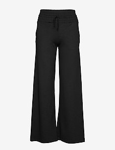 Wide Pants - spodnie treningowe - black