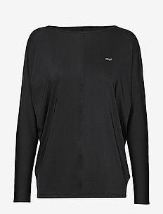Drape Top - BLACK