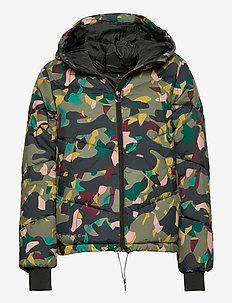 Alba Puffer Jacket - isolerende jakker - dusty camo