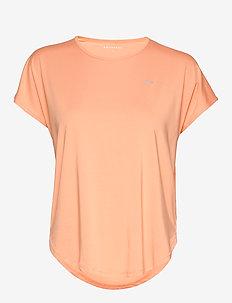 Leo Loose Top - t-shirts - cantaloupe