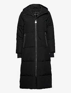 Ember Coat - insulated jackets - black