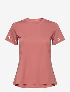 Heritage Tee - t-shirts - old rose