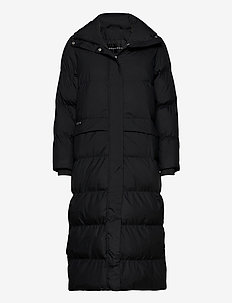 Icelyn Coat - insulated jackets - black