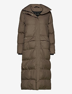 Icelyn Coat - insulated jackets - wood