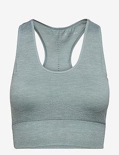 Rosie Seamless Sports Bra - sport bras: low - stormy sea