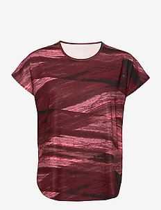 Zelda Loose Top - t-shirts - dark wine mist
