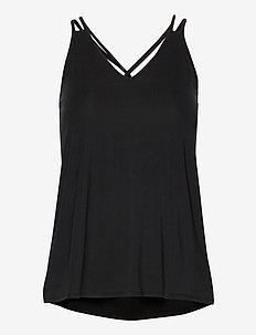 Luna Strap Top - topjes - black