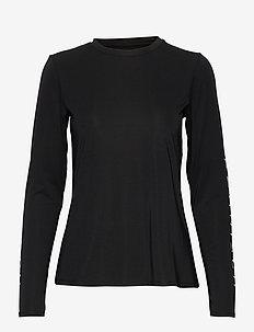 Heritage Long Sleeve - långärmade tröjor - black