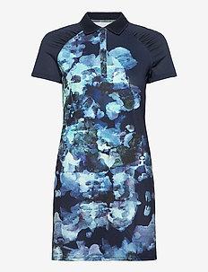 Pulse dress - tshirt jurken - blue utopia