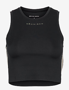 Fuze Sport Top - crop-topit - black