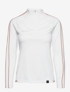 Serena half zip - sweatshirts - tofu