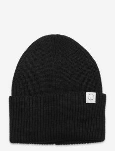 Cozy Rib Beanie - kapelusze - black