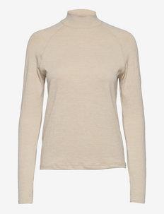 Seamless High Collar - langarmshirts - turtledove