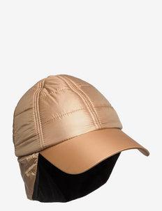 Quilted Warm Cap - czapki - tannin