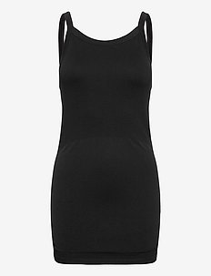 Maternity Seamless Singlet - bodies & slips - black