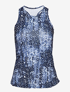 AOP TANK TOP - NAVY DOT