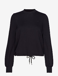 Comfy Cropped Top - BLACK