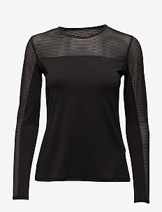 Miko Long Sleeve - langarmshirts - black