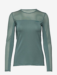 Miko Long Sleeve - pitkähihaiset topit - sea green