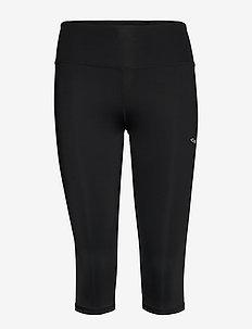 Shape Lasting Capri - running & training tights - black