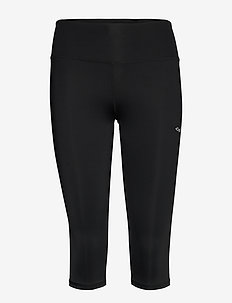 Shape Lasting Capri - lauf- & trainingstights - black
