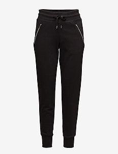 Comfy Track Pants - BLACK