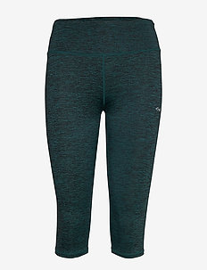 Lasting Capri - running & training tights - baltic green
